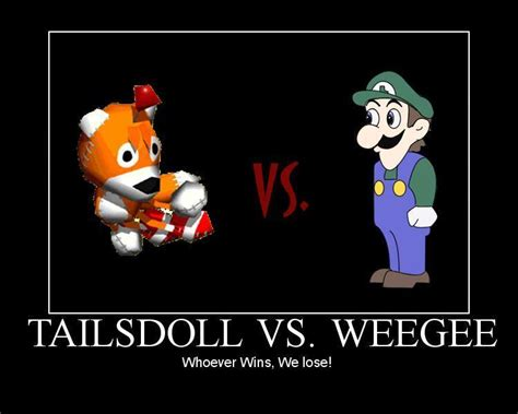 Tails Doll Meme - weegee v s tails doll images whoever wins we lose hd