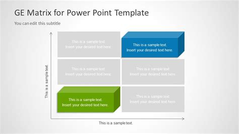 ge matrix for powerpoint slidemodel