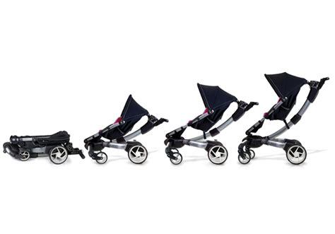 4moms Origami Stroller - baby stroller sports lcd display headlights phone