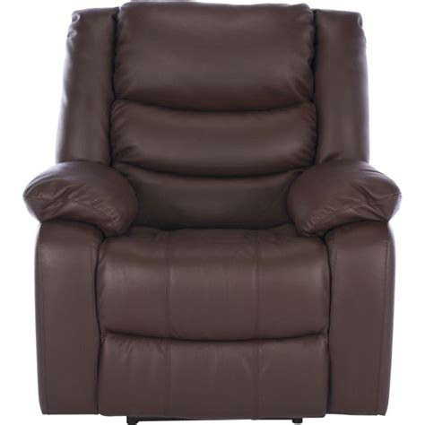 Argos Recliner Chairs Buy Collection Power Leather Recliner Chair Chocolate At Argos Co Uk Your