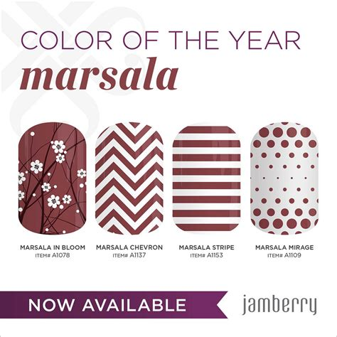 color of the year 2015 jamberry s color of the year 2015 marsala showynails blog