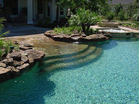 pool photos cypress custom pool spa photo gallery houston katy