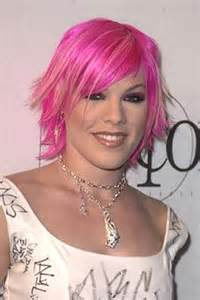 Celebrity inspired pink hairstyles ideas for spring 2011