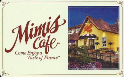 Mimi S Cafe Gift Card - restaurant clientlink inc