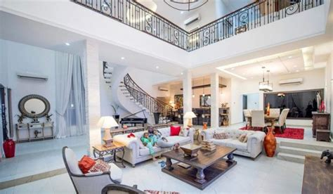 Celebrity Interior Homes by Celebrity Houses In Banana Island Tolet Insider