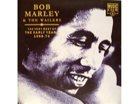 Cd The Wailers The Best Of Bob Marley Band bob marley the wailers the best of 1968 74