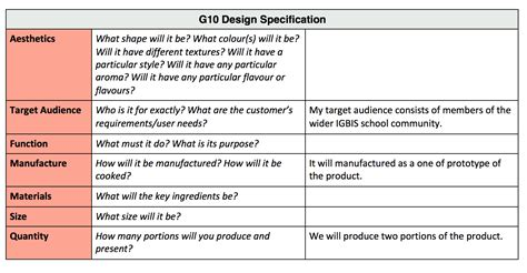 4 develop a design specification grade 10 design