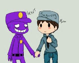 Purple guy x mike favourites by dangergirl67 on deviantart