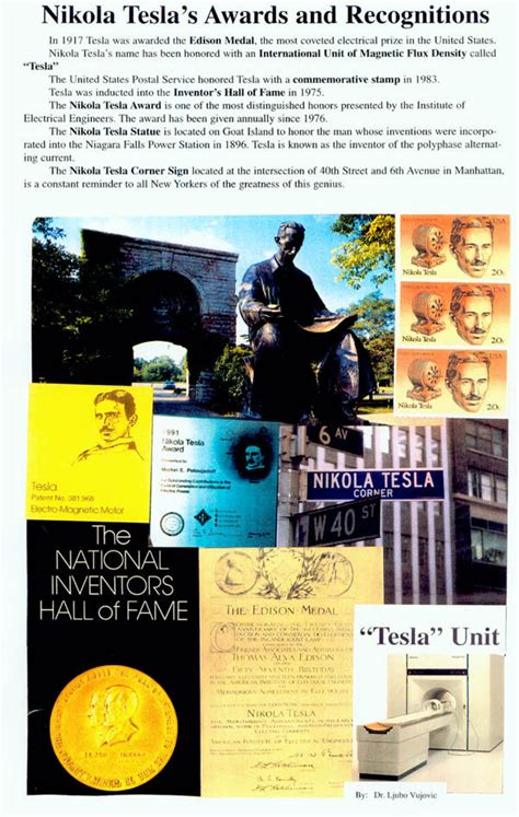 Nikola Tesla Awards Nikola Tesla Images Poster Of Tesla Awards Hd Wallpaper