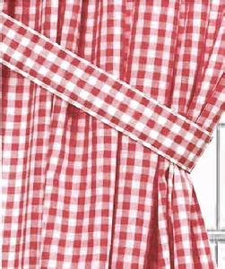 gingham curtains red red gingham check window curtains
