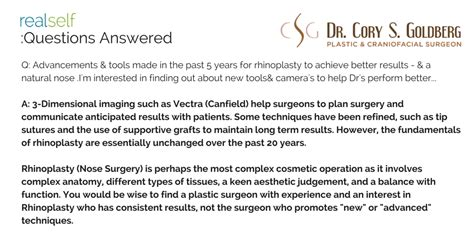 Most Important Cosmetic Surgery Advances In Past 5 Years Podcast by Nose Question Answered By Toronto Nose Expert Dr