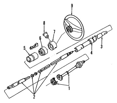 early bronco steering column wiring diagram early bronco