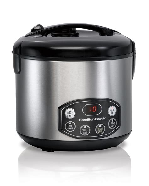 Rice Cooker Digital Quantum hamilton rice cookers 20 cup digital rice cooker