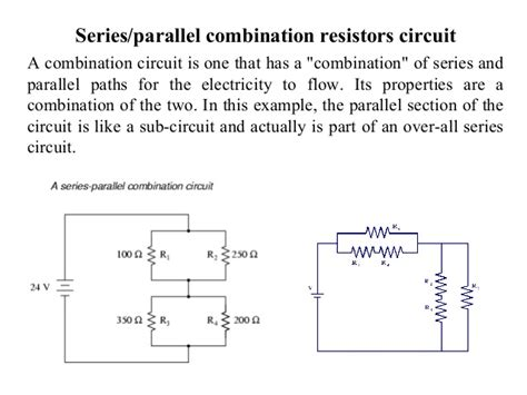 properties of series and parallel resistors topic 1 a basic concepts and theorem