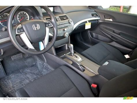 black interior 2012 honda accord lx sedan photo 68973782