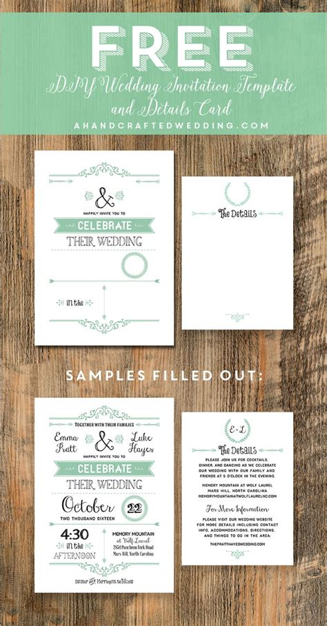 free wedding template commonpence co