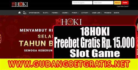 hoki freebet gratis slot game rp  gudangbetgratis