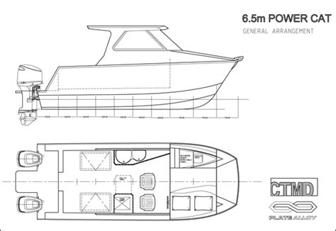 layout boat manufacturers plate alloy australia catamarans