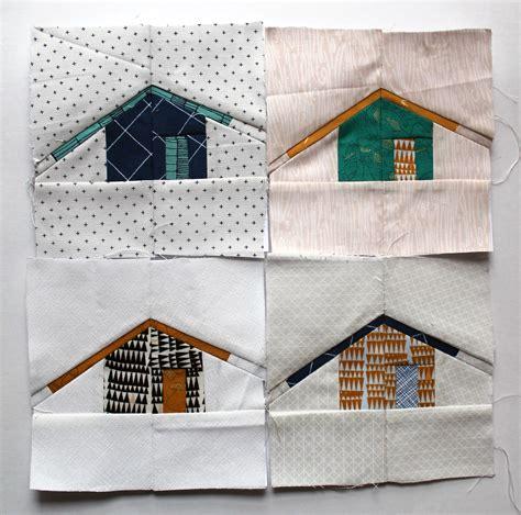 House Quilt Block by House Quilt Block Wombat Quilts