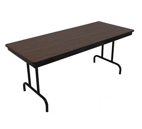 18 x 60 folding table barricks fixed height folding table 18 quot x 60 quot 100 1p