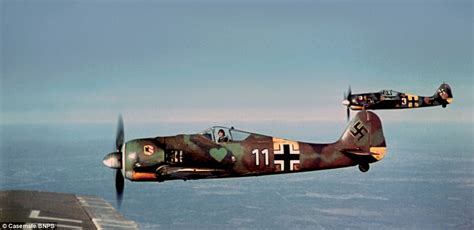 the luftwaffe in colour german luftwaffe captured in colour photos daily mail online