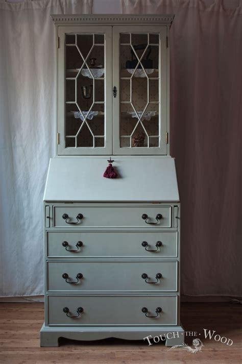 shabby chic bureau shabby chic bureau with bookcase no 17 touch the wood