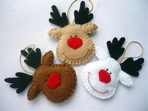 felt christmas projects 22 felt crafts tree decorations