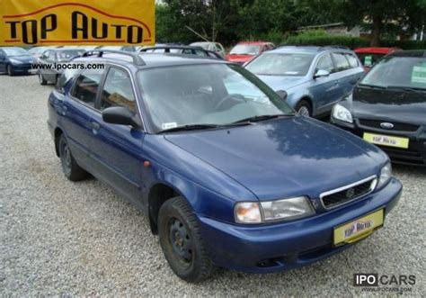 Suzuki Baleno 1999 Specs 1999 Suzuki Baleno V Car Photo And Specs