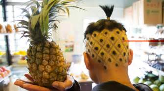 pineapple on hair kunming s pineapple brother has a cooler haircut than you