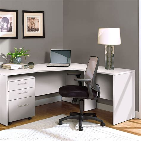 Modern Desks Series White Desk Return Eurway Modern White Desk 100