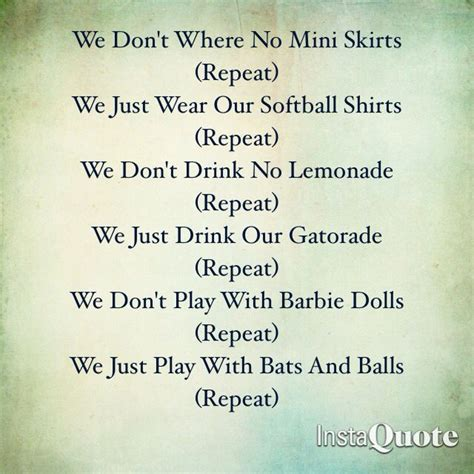 softball quotes softball sayings softball picture quotes