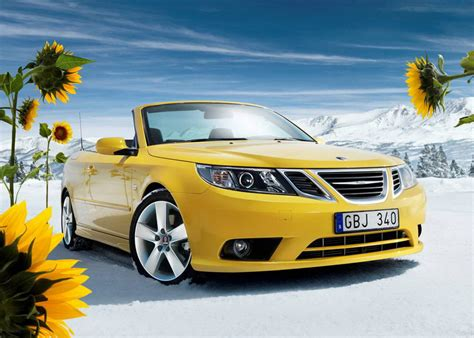 saab convertible 2008 saab 9 3 convertible yellow edition return of a classic