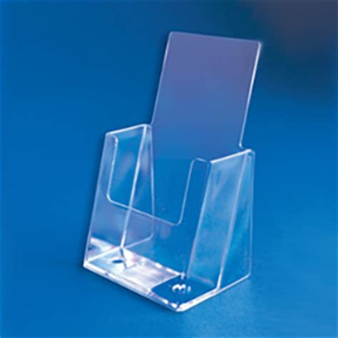 Acrylic Display Brosur acrylic countertop tri fold brochure holder displays store fixtures and supplies