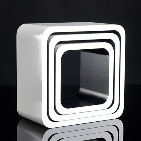 Regal Set cube regale 3 tlg tief b 252 cher cd wandregal w 252 rfel