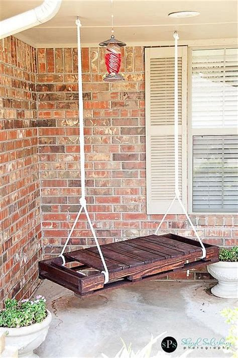 porch swing made out of pallets easy diy pallet furniture ideas pallets designs