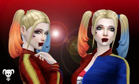 Harley Quinn Hair at My Stuff » Sims 4 Updates