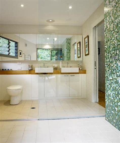 galley bathroom designs 20 square mosaic tiles for your bathroom messagenote