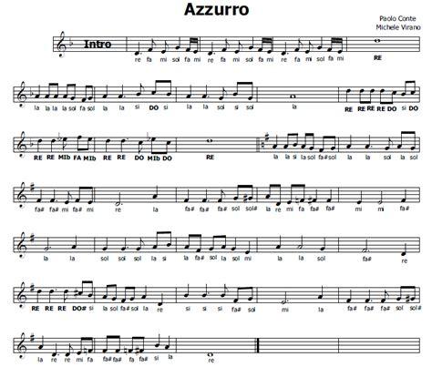 celentano soli testo musica e spartiti gratis per flauto dolce azzurro celentano
