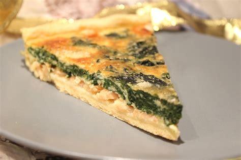 cuisiner saumon frais tarte au saumon fum 233 et 233 pinards frais pour ceux qui