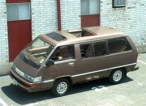 Toyota Vans 1980s Toyota Questions What Was The Original Name For The 1980