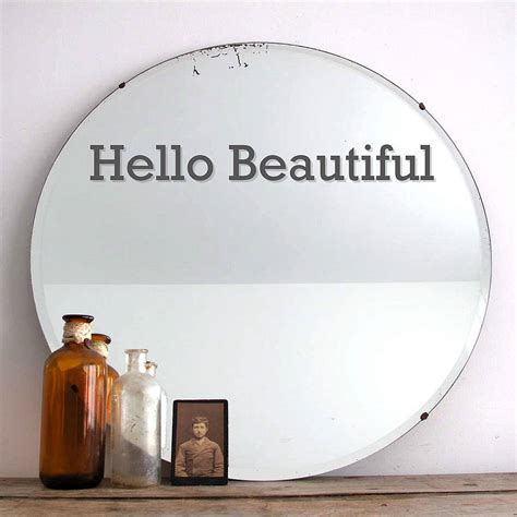 printable mirror vinyl interior design tricks the london printing company