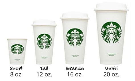starbucks cup sizes google search starbucks secret menu pinterest starbucks cups and