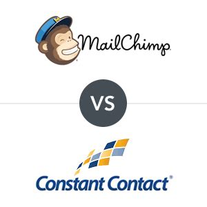 email marketing send off mailchimp vs constant contact
