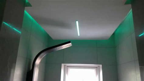 strip lighting for bathrooms rgb led strip installed in a bathroom customer case
