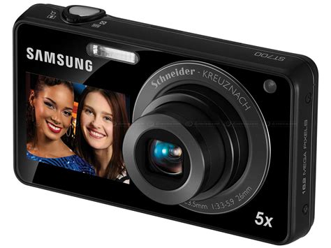Kamera Samsung Pl120 Dual Lcd samsung launches st700 pl170 and pl120 dualview cameras digital photography review