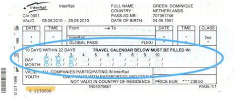 Calendario Qui Ticket Comment Dois Je Remplir Le Calendrier De Voyage