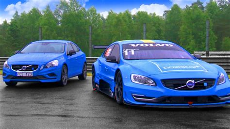 volvo  polestar race car  road car  gear youtube