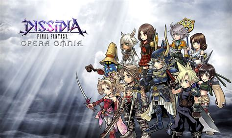 warrior of light ffbe dissidia final fantasy opera omnia debut trailer youtube