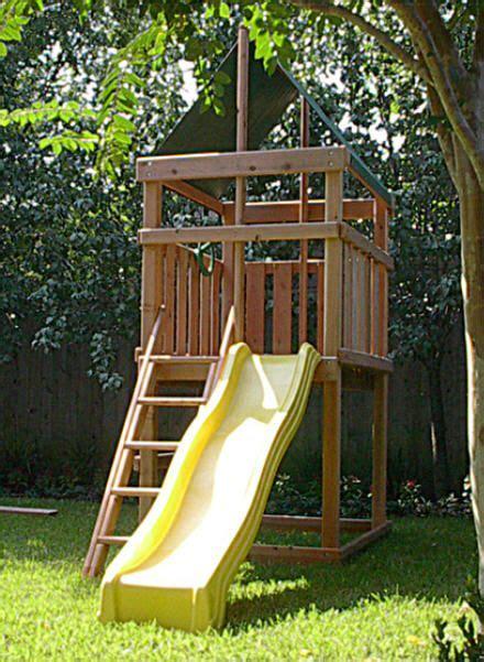 jacks backyard redwood endeavor fort kit  plan