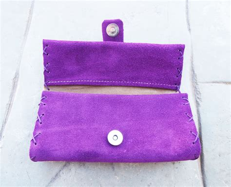 Handmade Tobacco Pouch - tobacco pouch leather handmade genuine leather
